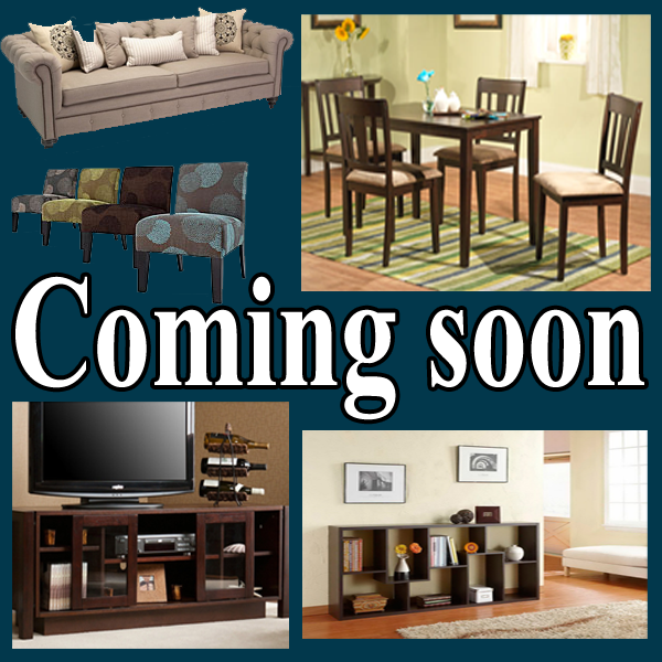 Furniture Coming Soon
